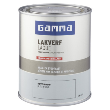 GAMMA binnenlak hoogglans 750 ml neveldauw