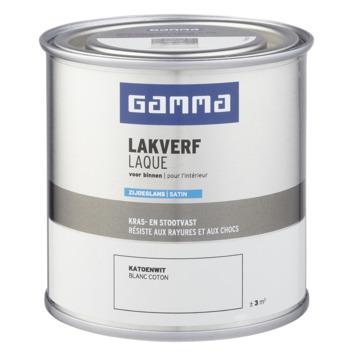 GAMMA binnenlak zijdeglans 250 ml katoenwit