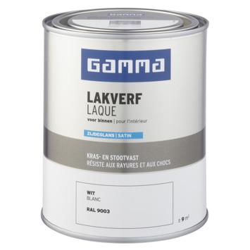 GAMMA binnenlak zijdeglans 750 ml wit