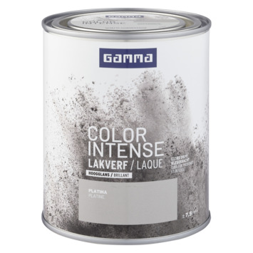 GAMMA color intense binnenlak hoogglans 750 ml platina