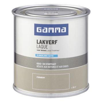 GAMMA binnenlak zijdeglans 250 ml ferment