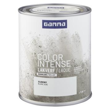 GAMMA color intense binnenlak hoogglans 750 ml zijde wit