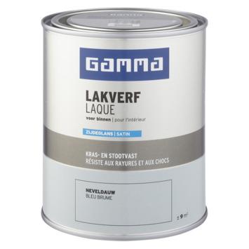 GAMMA binnenlak zijdeglans 750 ml neveldauw