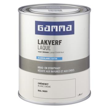 GAMMA binnenlak zijdeglans 750 ml RAL 9001