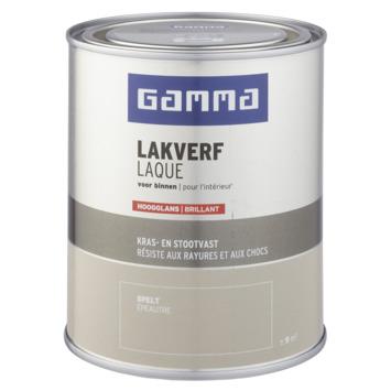 GAMMA binnenlak hoogglans 750 ml spelt