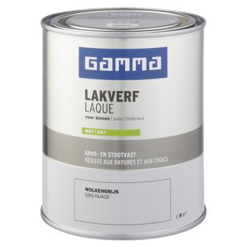 GAMMA binnenlak mat 750 ml wolkengrijs
