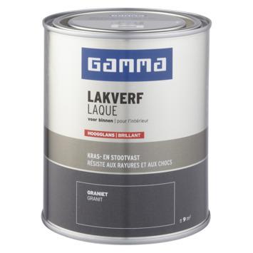 GAMMA binnenlak hoogglans 750 ml graniet
