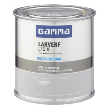 GAMMA binnenlak zijdeglans 250 ml steengrijs