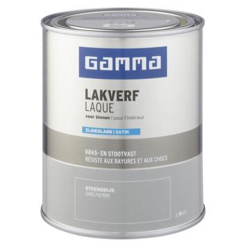 GAMMA binnenlak zijdeglans 750 ml steengrijs
