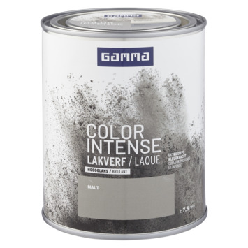 GAMMA color intense binnenlak hoogglans 750 ml malt