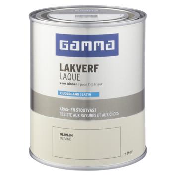 GAMMA binnenlak zijdeglans 750 ml olivijn