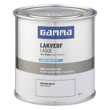 GAMMA binnenlak zijdeglans 250 ml wolkengrijs