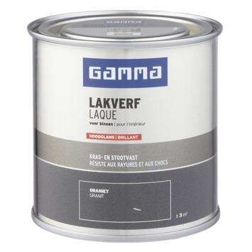 GAMMA binnenlak hoogglans 250 ml graniet
