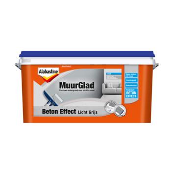 Alabastine MuurGlad Authentiek beton midden grijs 5 liter