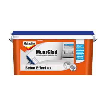Alabastine MuurGlad beton effect wit 5 liter