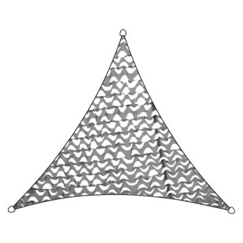 Livin' outdoor camouflagenet driehoek 3.6m antraciet