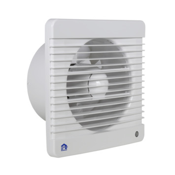 Renson mechanische ventilator met timer 7203TE wit ø150 mm