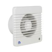 Renson mechanische ventilator met timer 7201TE wit ø100 mm