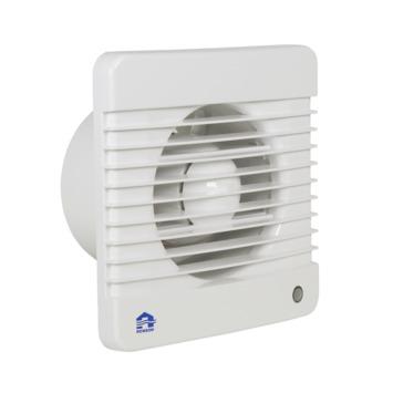 Renson mechanische ventilator met timer 7202TE wit ø125 mm