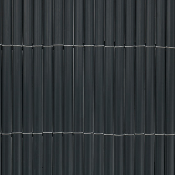 Balkonscherm pvc antraciet 90X300 cm