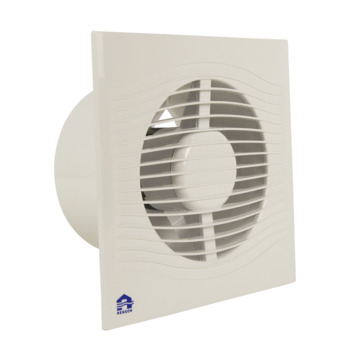 Renson mechanische ventilator met timer 9202TE Ø125 mm wit