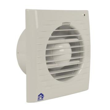 Renson mechanische ventilator met timer & lichtsensor 7501LE Ø100 mm wit