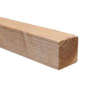 Tuinpaal Douglas ruw ca. 6,5x6,5 cm, lengte 250 cm