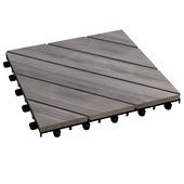 Vlondertegel acacia grijs 30x30 cm per 6 stuks