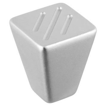 Knop Lucinda aluminium 22mm