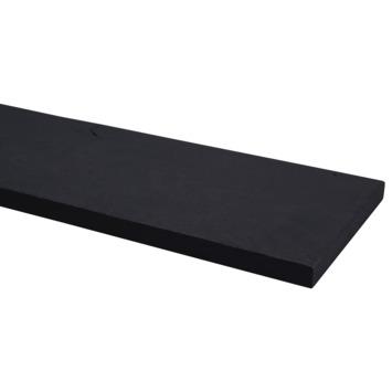 Plank eiken carbon black 19x195 mm 250 cm