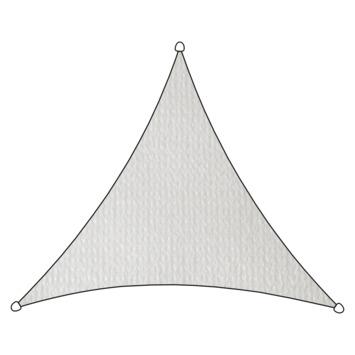 Livin' outdoor schaduwdoek HDPE driehoek 3.6m wit
