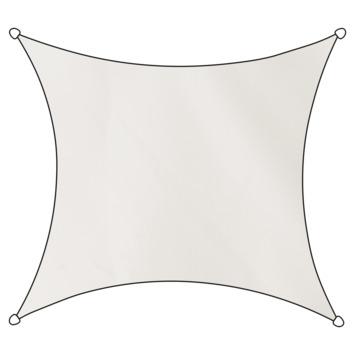 Livin' Outdoor Schaduwdoek Vierkant Poly Wit 360x360 cm