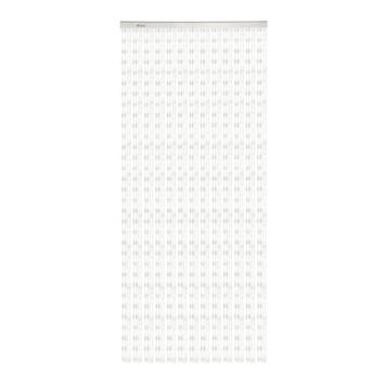 Livin' outdoor deurgordijn Beats transparant/witte kralen 230x100cm
