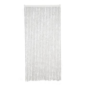 Livin' outdoor deurgordijn Chenille grijs 230x100cm