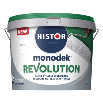 Histor Monodek Revolution wit 10 liter