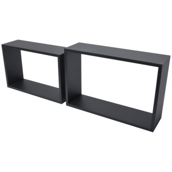 Duraline dural cube zwart pvc 12mm