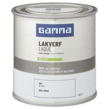 GAMMA binnenlak mat 250 ml wit