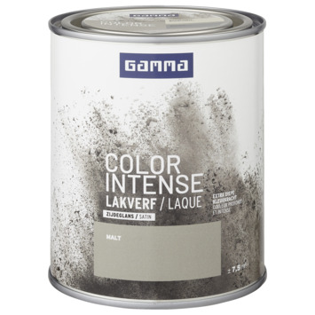 GAMMA color intense binnenlak zijdeglans 750 ml malt