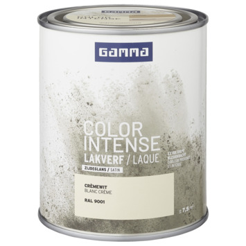 GAMMA color intense binnenlak zijdeglans 750 ml RAL 9001