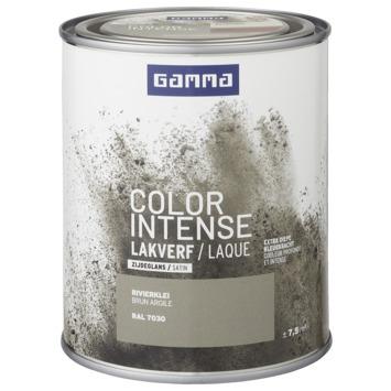 GAMMA color intense binnenlak zijdeglans 750 ml rivierklei