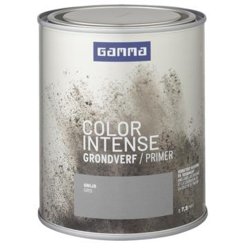 GAMMA color intense grondverf binnen 750 ml grijs