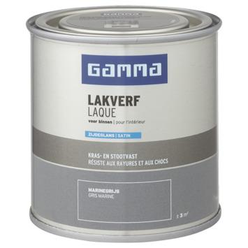 GAMMA binnenlak zijdeglans 250 ml marinegrijs