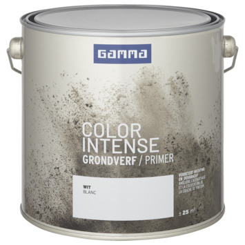 GAMMA color intense grondverf 2,5 L wit
