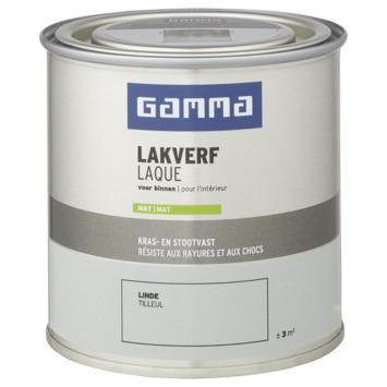 GAMMA binnenlak mat 250 ml linde