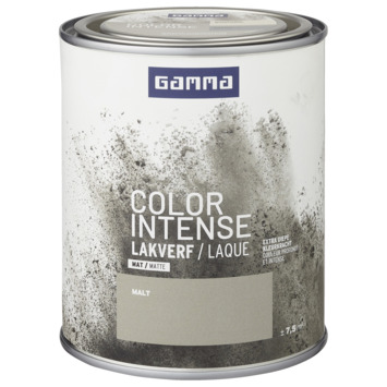 GAMMA color intense binnenlak mat 750 ml malt