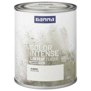 GAMMA color intense binnenlak zijdeglans 750 ml zijde wit
