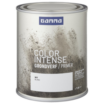 GAMMA color intense grondverf binnen 750 ml wit