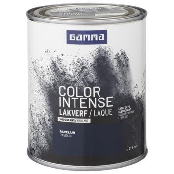 GAMMA color intense binnenlak hoogglans 750 ml ravelijn