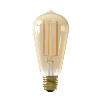 Calex E27 LED filament lamp edison 4W 400lm met dag- nachtsensor