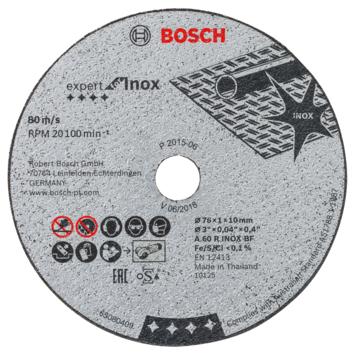 Bosch 5x slijpschijf GWS 10,8, 76x1x10mm